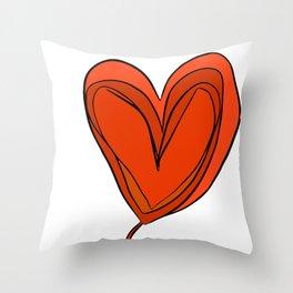 Amor en Mente Throw Pillow