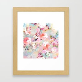 Love of a Flower Framed Art Print