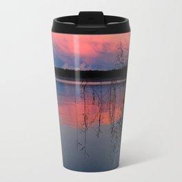 Sunset In The Pellinki Archipelago Travel Mug