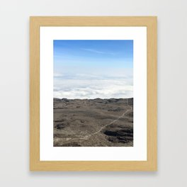 Life's a Journey Framed Art Print