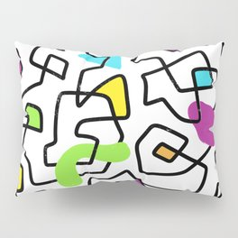 Bright n' Squiggly Pillow Sham