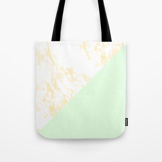 Dream Pop Marble Tote Bag