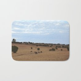 Landscape & Horses Bath Mat