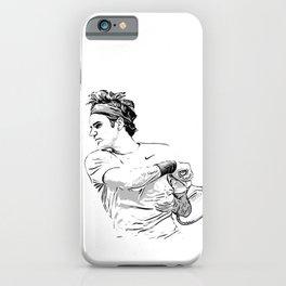 Federer Forehand Finish iPhone Case