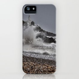 Mumbles Wild Waves. iPhone Case