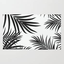 Palm Leaves Pattern Summer Vibes #2 #tropical #decor #art #society6 Rug