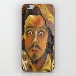 The Desperate Man iPhone Skin