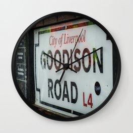 Goodison Road Wall Clock