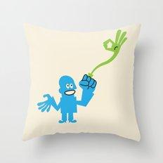 ENERGY RING Throw Pillow