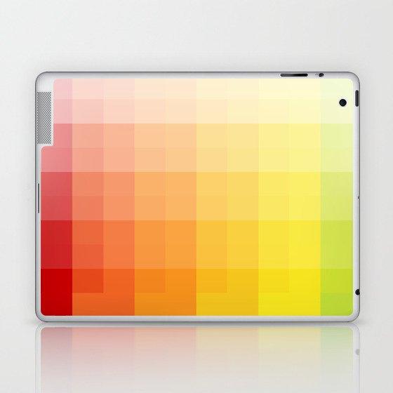 citrus pixelate Laptop & iPad Skin by emilychang