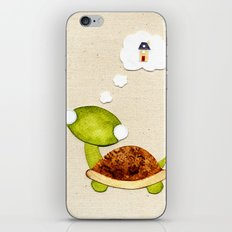 Tortoise wants a New Home iPhone & iPod Skin