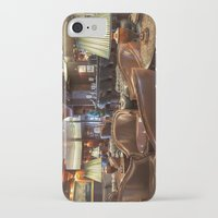 bar iPhone & iPod Cases featuring Lounge Bar by Deborah Janke