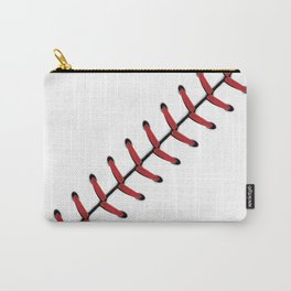 Baseball Lace line Carry-All Pouch