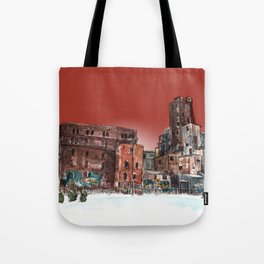 Canadian Malting Factory Tote Bag