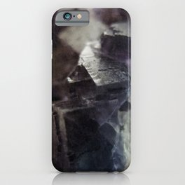 fluorite aura iPhone Case
