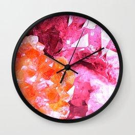 Crystal Abstract Wall Clock