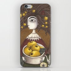 Portrait of an Apple Orchard iPhone & iPod Skin