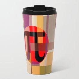 Geometric Pi  Travel Mug