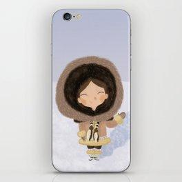 Cute eskimo iPhone Skin