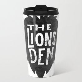 The Lions Den Metal Travel Mug