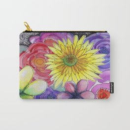 floral bouquet Carry-All Pouch