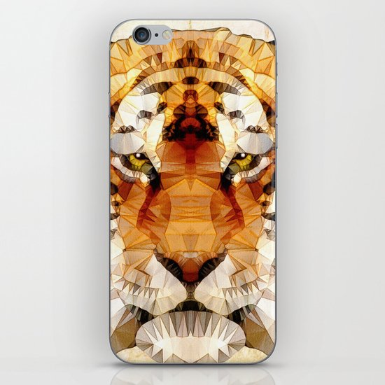 abstract tiger iPhone & iPod Skin