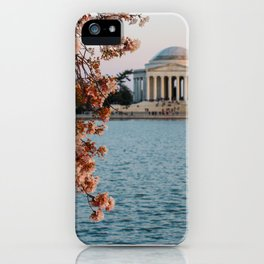 Cherry Blossoms at the Jefferson iPhone Case