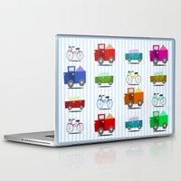 cars Laptop & iPad Skins featuring Cars by Alapapaju