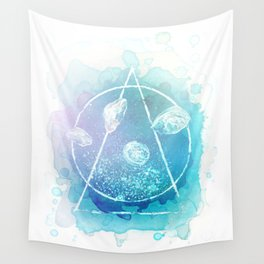 Sacred Jellies Wall Tapestry