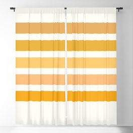 Sunburst Art Print Blackout Curtain
