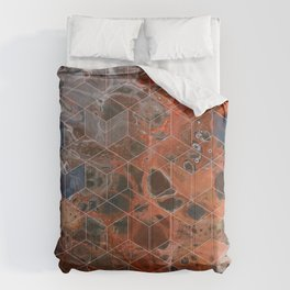 Earth Cubed Comforters