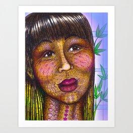 Wisdom Keeper Color #10 (Naturalness) Art Print