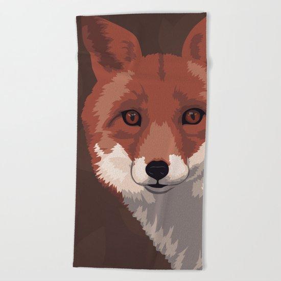 Vulpini Beach Towel