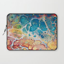 Turquiose marble Laptop Sleeve
