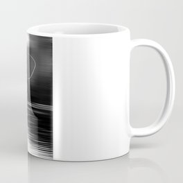 A river runs through it. (dotted) Coffee Mug
