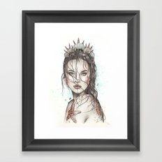 Lost Mermaid Framed Art Print