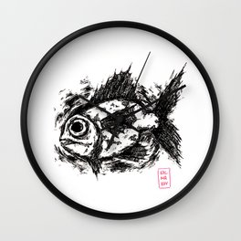 DeadFish Wall Clock