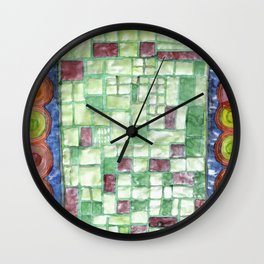 In the Mirror of Modernity Wall Clock