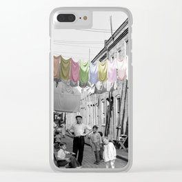 Laundry Day 2 Clear iPhone Case