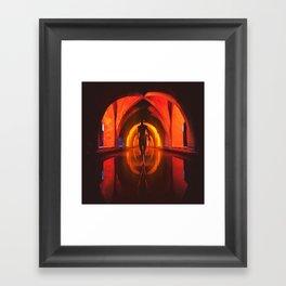 WARM OMEN Framed Art Print