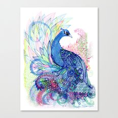 Blue Wild Canvas Print