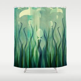 Up Shower Curtain
