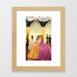Palatial loves Framed Art Print