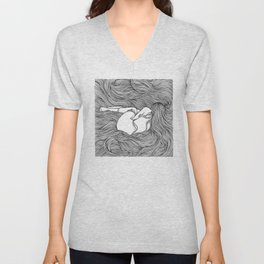 THE NEST III Unisex V-Neck
