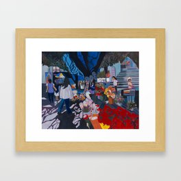 Mercado Framed Art Print