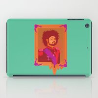 danny haas iPad Cases featuring Danny Brown by Trish Roberts