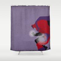 magneto Shower Curtains featuring My Magneto by Osvaldo Casanova