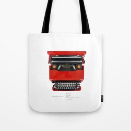 Olivetti Valentine typewriter Tote Bag