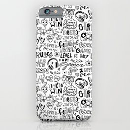 I love to play iPhone Case