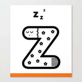 ABC: Z Canvas Print